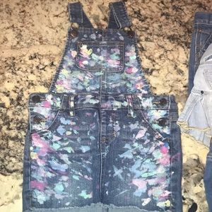 Bundle of 5xJean Skirts /1x Jean overalls